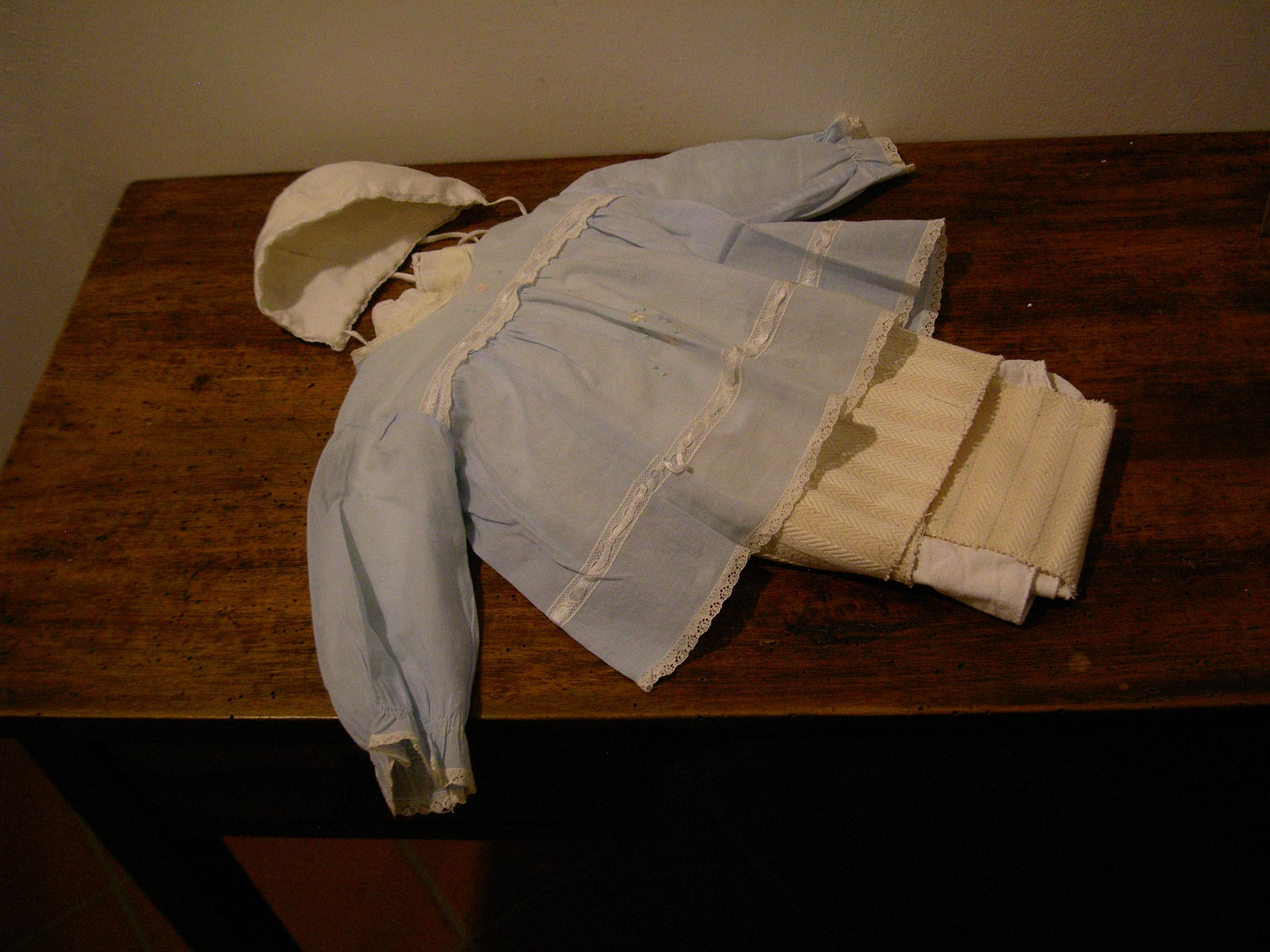 abiti di Vincenzo indossati al momento del suo ritrovamento