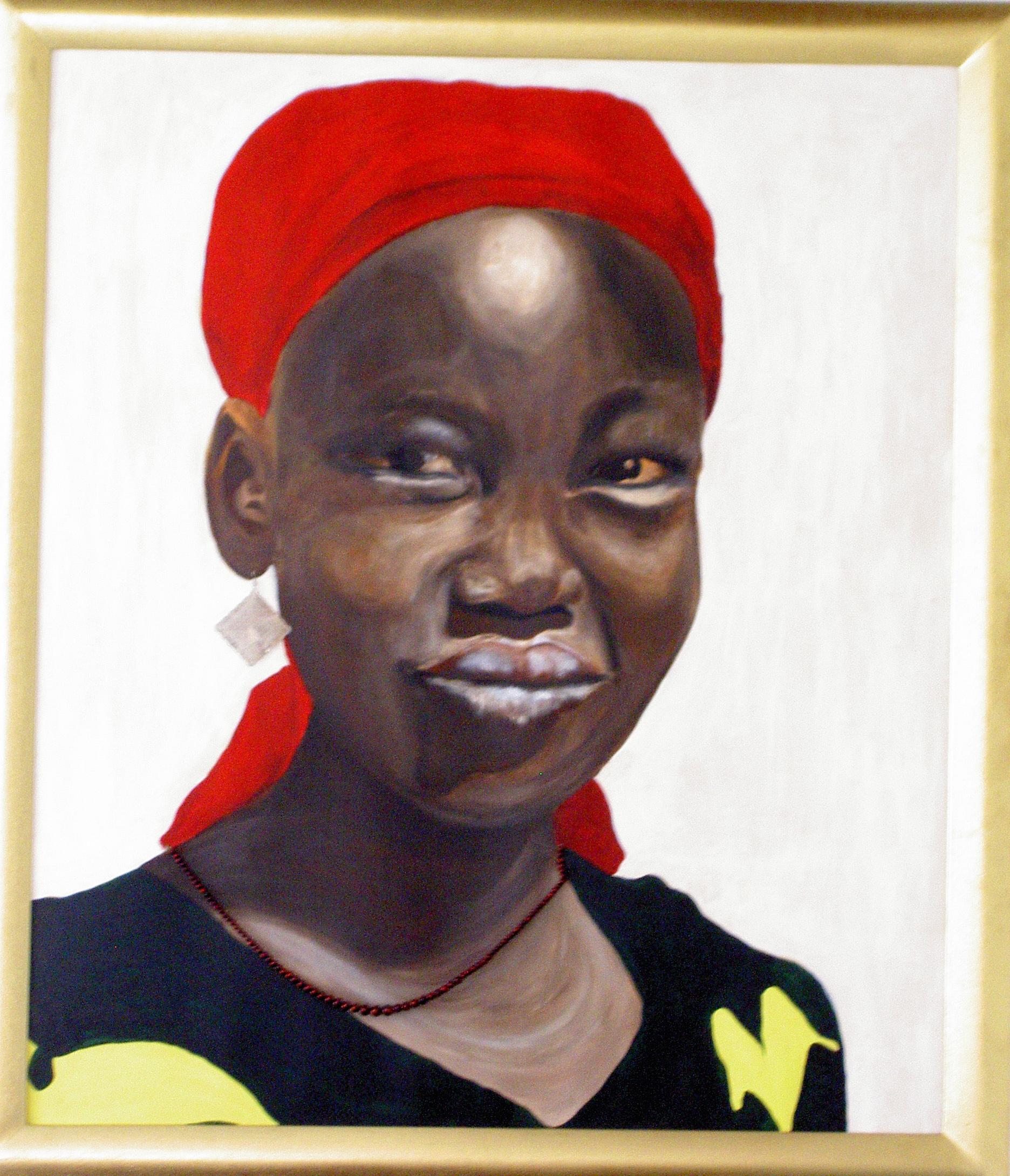 Serie di ritratti africani.